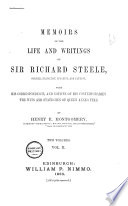 Memoirs of the Life and Writings of Sir Richard Steele