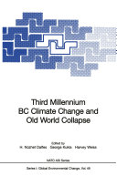 Pdf Third Millennium BC Climate Change and Old World Collapse Telecharger
