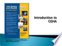 Presentations And Publications Combined Occupational Safety And Health Administration Osha Fall Protection And Scaffolds Book