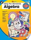 Using The Standards Algebra Grade 3 Book PDF