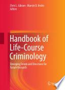 Handbook Of Life Course Criminology Book PDF