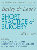 Cover of Bailey & Love's Short Practice of Surgery