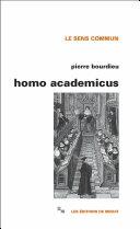 Homo academicus Pdf/ePub eBook