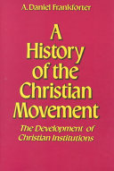 A History of the Christian Movement Book PDF