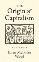 The Origin of Capitalism Pdf/ePub eBook