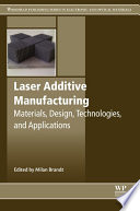 Laser Additive Manufacturing Book PDF