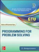 Programming for Problem Solving  Additional Solved Gujarat Technical University Examination Questions