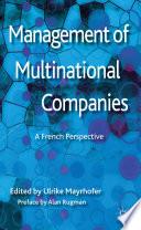 Management Of Multinational Companies