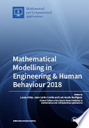 Mathematical Modelling in Engineering   Human Behaviour 2018 Book