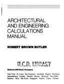 Architectural and Engineering Calculations Manual
