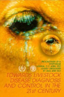 Towards Livestock Disease Diagnosis And Control In The 21st Century Book PDF