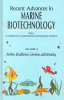Recent Advances in Marine Biotechnology