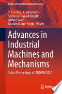 Advances in Industrial Machines and Mechanisms Book
