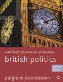 Cover of British Politics