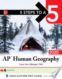 5 Steps to a 5  AP Human Geography 2020 Book