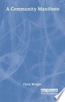 A Community Manifesto
