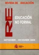 Revista de educación nº 338. Educación no formal