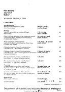 New Zealand journal of botany