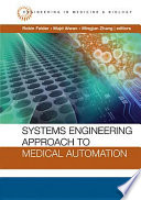 Systems Engineering Approach To Medical Automation Book PDF