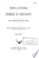 Studies in Theology: The supernatural book
