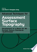 Advanced Techniques for Assessment Surface Topography Book