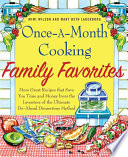 Once A Month Cooking Family Favorites