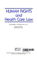 Human Rights And Health Care Law