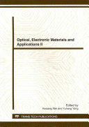 Optical  Electronic Materials and Applications II