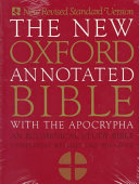 The New Oxford Annotated Bible with the Apocryphal/Deuterocanonical Books