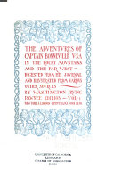 The Adventures of Captain Bonneville  V S A   in the Rocky Mountains and the Far West