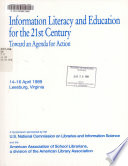 Information Literacy And Education For The 21st Century Book PDF