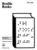 Braille Books Book