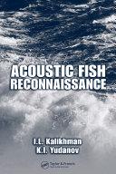 Acoustic Fish Reconnaissance