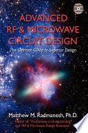Advanced RF   Microwave Circuit Design Book
