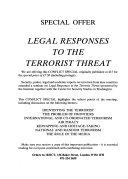 Counter terrorism in Europe Book