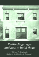 Radford s Garages and how to Build Them