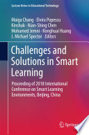 Challenges and Solutions in Smart Learning