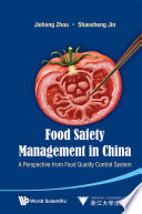 Food Safety Management in China Book