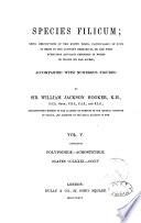 Species Filicum: Polypodieæ
