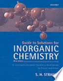 Guide to Solutions for Inorganic Chemistry