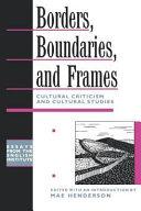 Borders, Boundaries, and Frames ebook