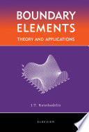 Boundary Elements  Theory and Applications