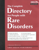 The Complete Directory for People with Rare Disorders Book