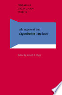 Management And Organization Paradoxes Book