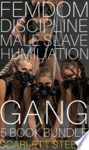 Femdom Discipline Male Slave Humiliation Gang - 5 book bundle