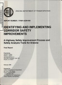 Identifying and Implementing Corridor Safety Improvements Book