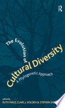 The Evolution of Cultural Diversity Book