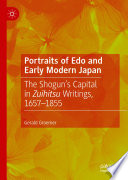 Portraits Of Edo And Early Modern Japan