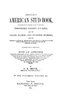 The American Stud Book