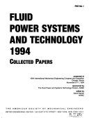 Fluid Power Systems and Technology